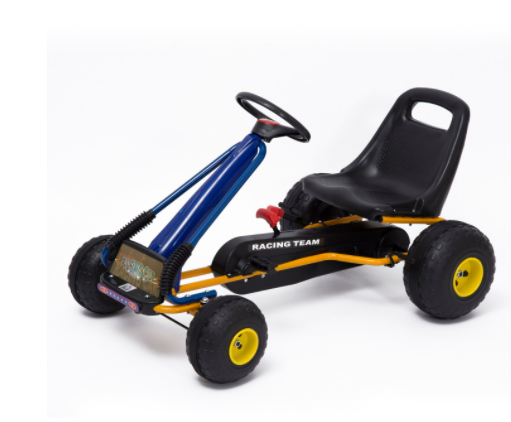 Go-Kart con Pedales y Ruedas