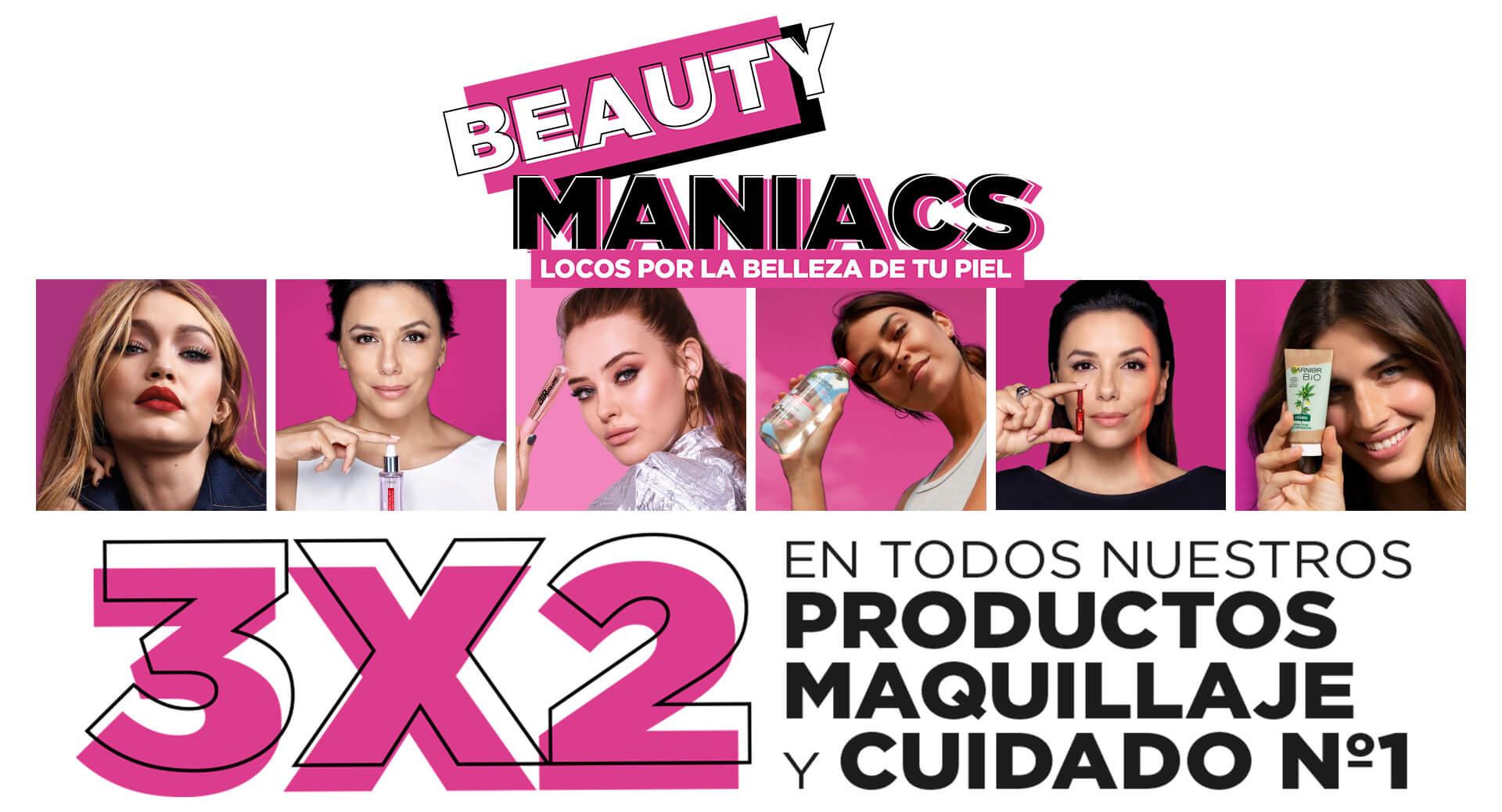 3X2 en Productos de Maquillaje y Belleza en Primor