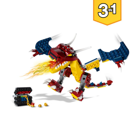 LEGO Creator Dragón Llameante
