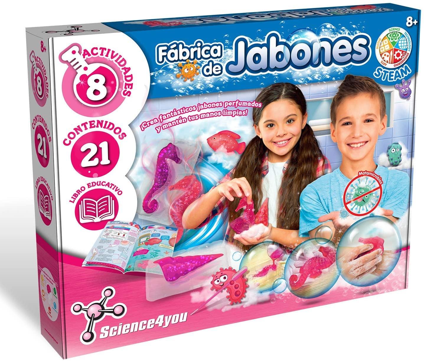 Fábrica de Jabones Science4you