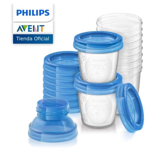 Philips Avent SCF618/10 Juego Set de recipientes para comida de bebé