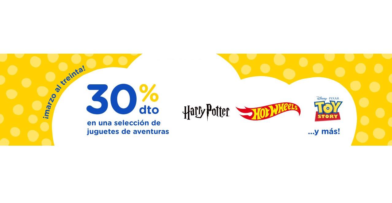 """Marzo al Treinta: 30% de Dto. en Selección de Juguetes Toys""""R""""Us"""
