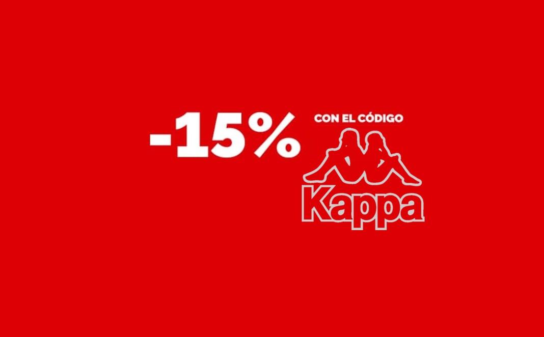Cupón de 15% de Dto. en Kappa