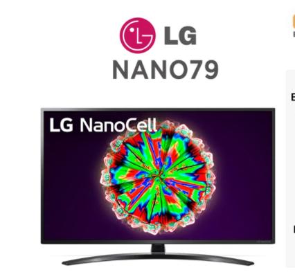 Smart TV LG NanoCell NANO793