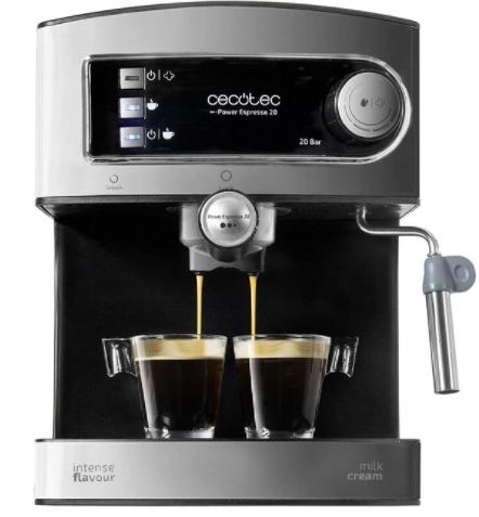 Cafetera Express Cecotec Power Espresso 20