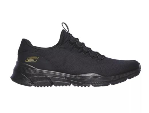 Zapatillas SKECHERS  negras de malla