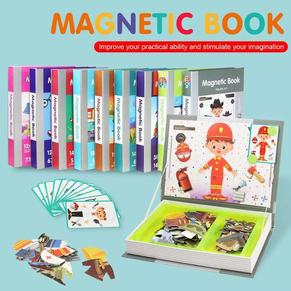 Libro Magnético inteligente para niños