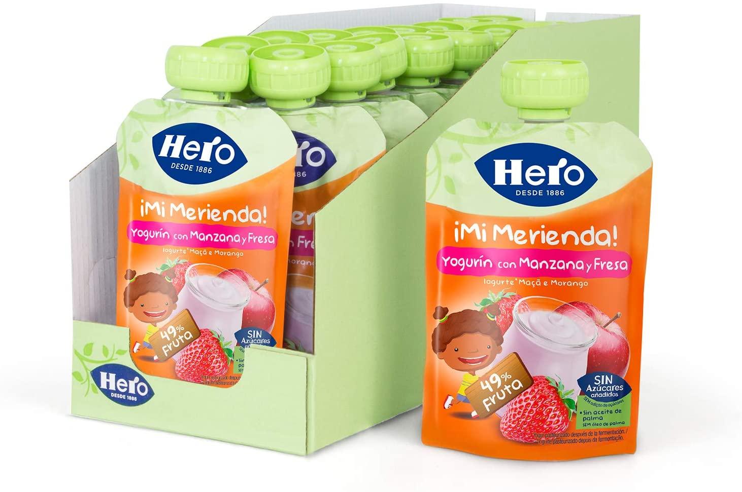 Packs de Alimentación Infantil Hero Baby