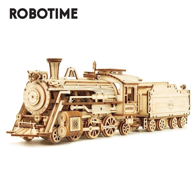 Set de Construcción Tren de Vapor de Robotime