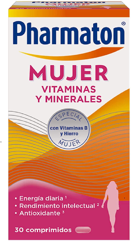 Multivitaminas Pharmaton para Mujer 30 comprimidos