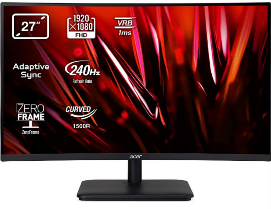 """Monitor gaming Acer 27"""" FHD 240 Hz"""