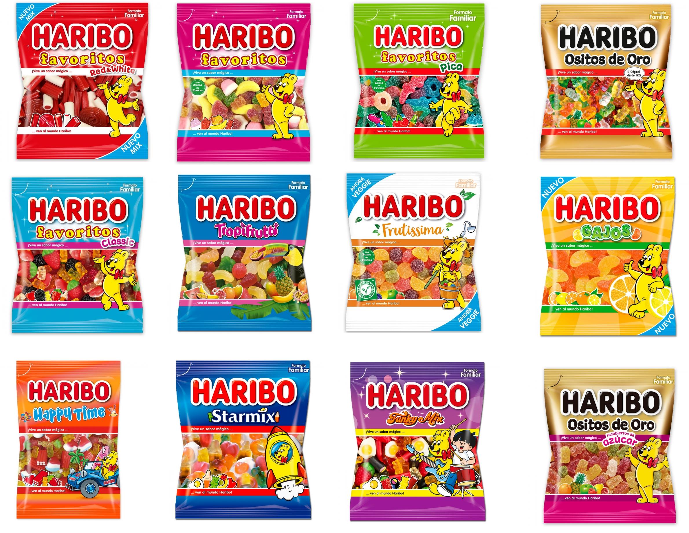 3x2 en Caramelos de Goma Haribo desde Carrefour