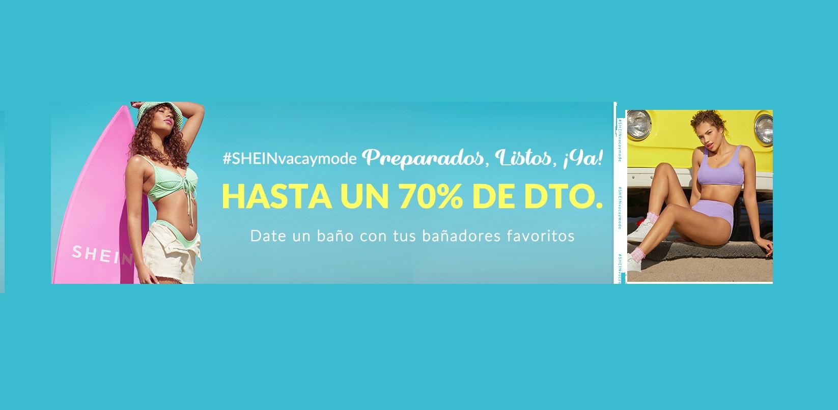 Hasta 70% de Dto. + 20% EXTRA