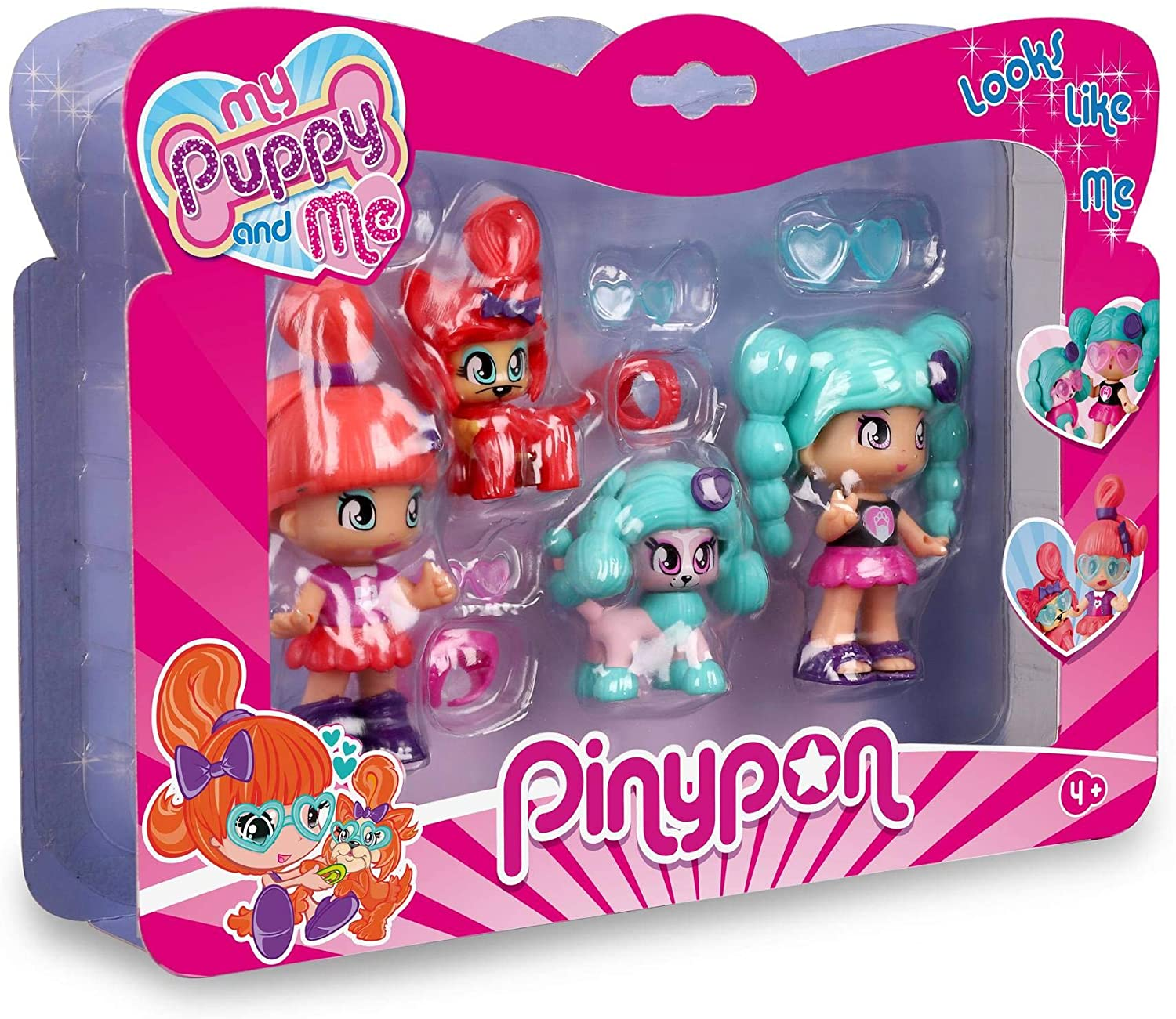Pinypon My Puppy and Me Doble Figuras