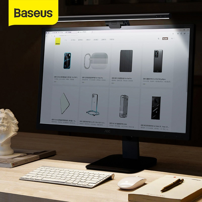 Lámpara LED para monitor y Escritorio Baseus