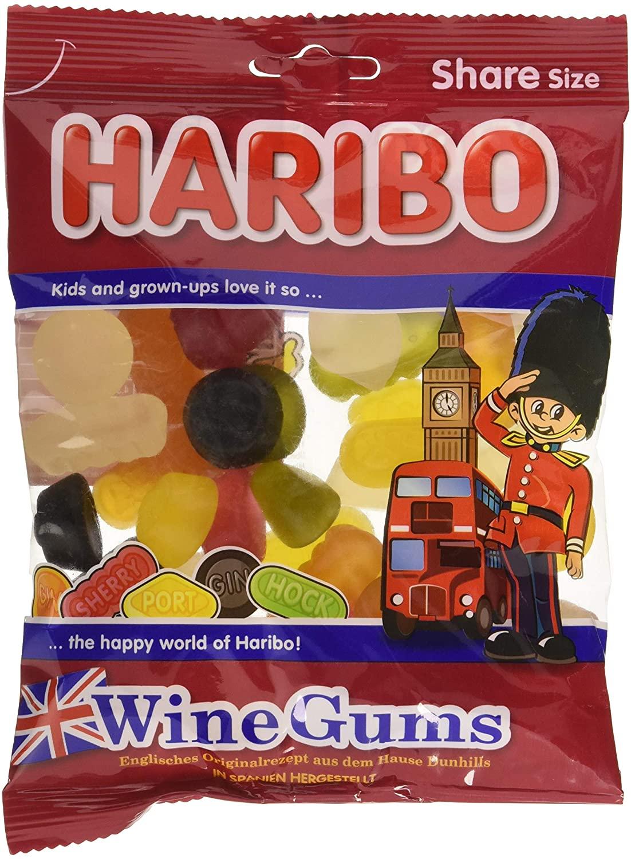 Haribo Wine Gums 200g