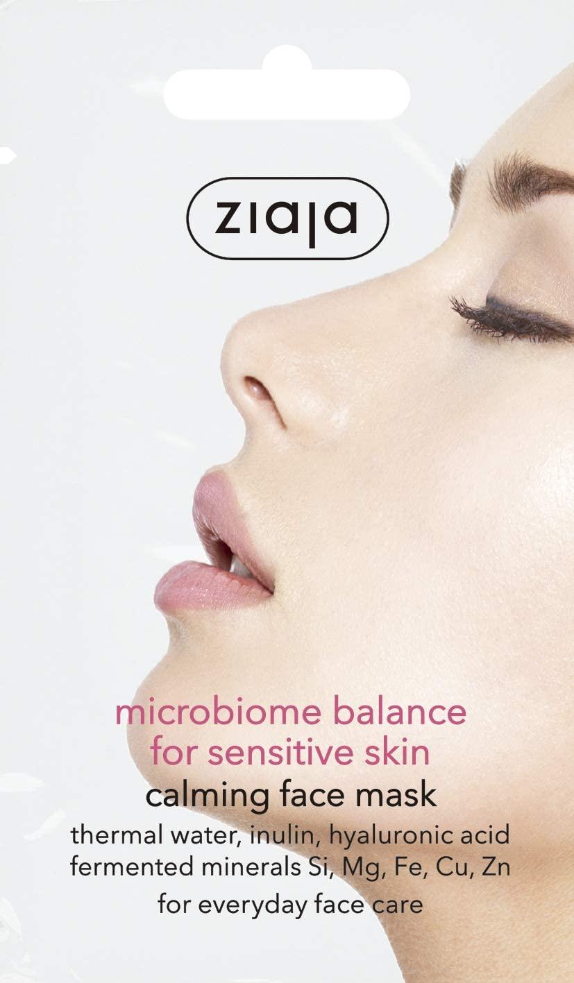 Mascarilla Facial Calmante Microbiome Balance Ziaja