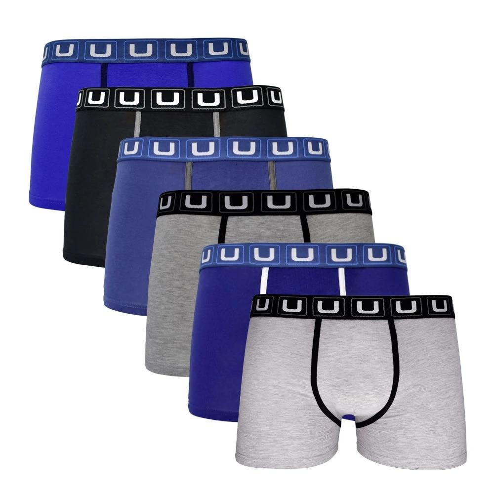 Pack de 6 UNCO Calzoncillos Bóxer