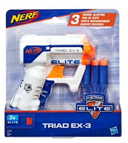 Lanza dardos Nerf Elite Triad