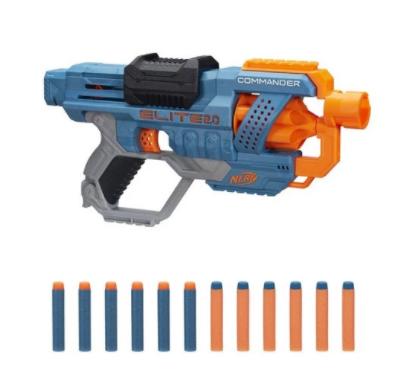 Pistola Nerf Elite 2.0 Commander RD-6