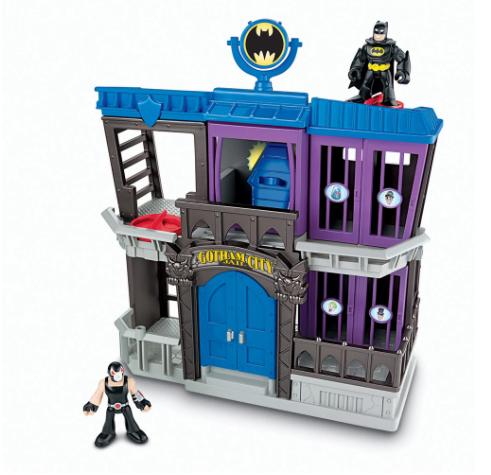 Imaginext DC Superfriends Cárcel Gotham Batman y villanos