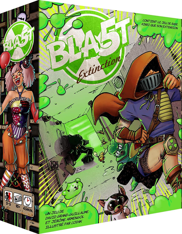 Juego de mesa Blast Games-Bla5t-Extinction