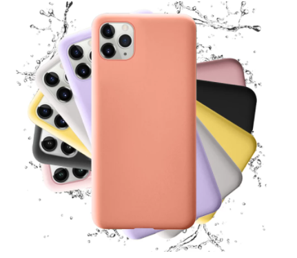 Fundas de silicona suaves para iPhone