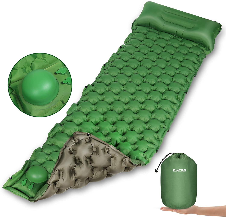 Esterilla inflable para camping y escapadas