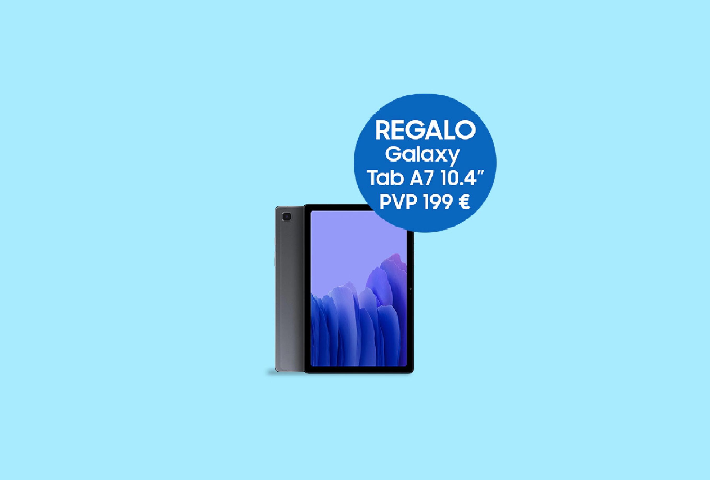 Consigue una Galaxy Tab A7 GRATIS con tu compra en la tienda Samsung