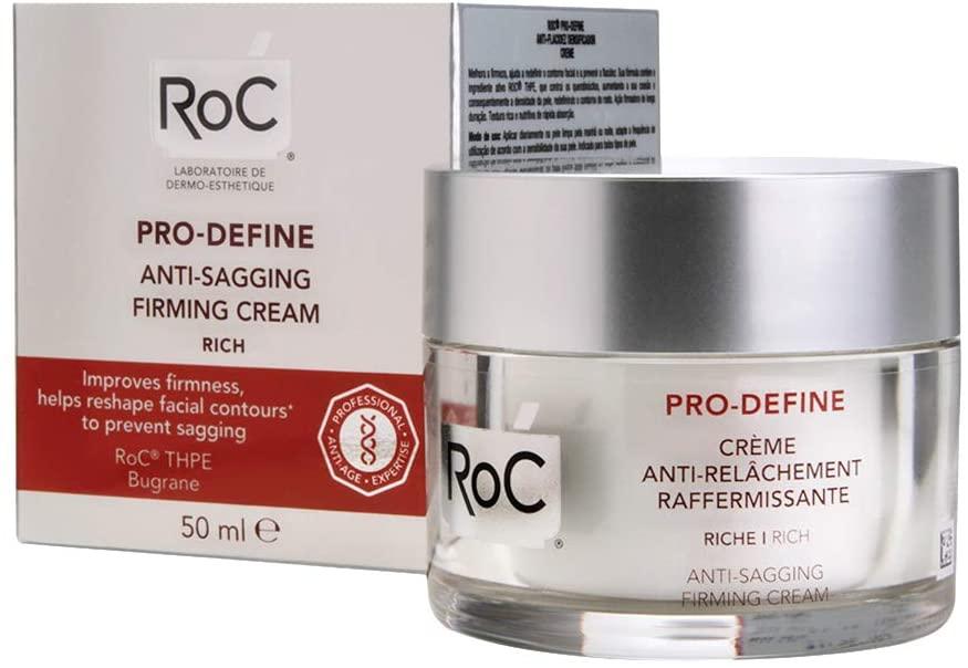 ROC Pro Define Crema Anti Flacidez Reafirmante Textura Rica