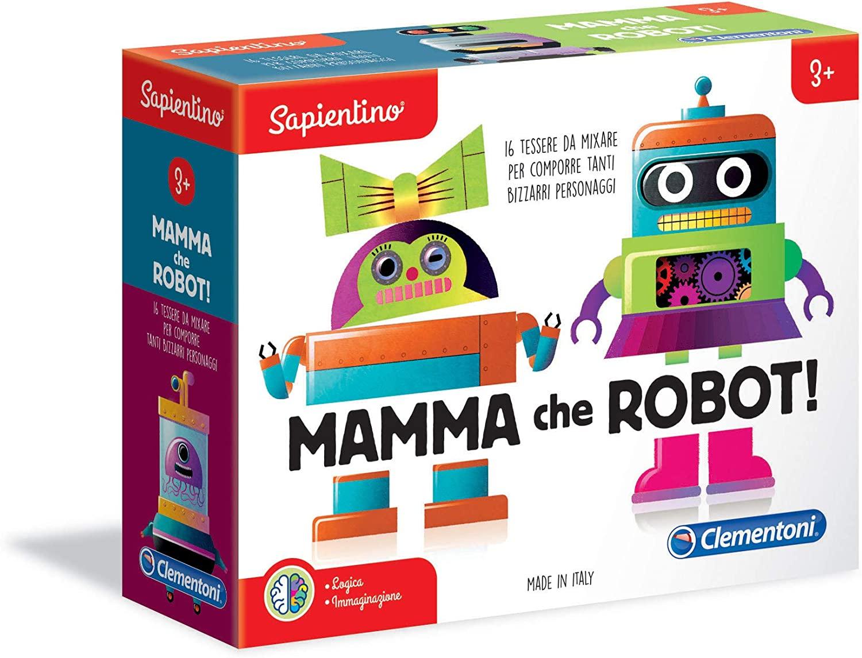Juego Educativo: Mamma che Robot