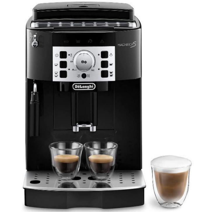 Cafetera superautomática De'Longhi Magnífica S con sistema capuccino
