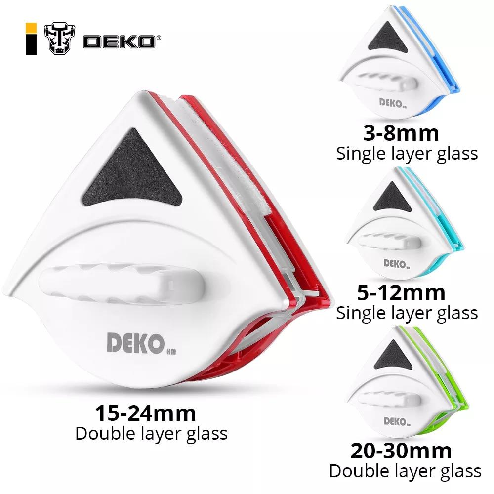 DEKO-limpiador de vidrio de ventana magnética