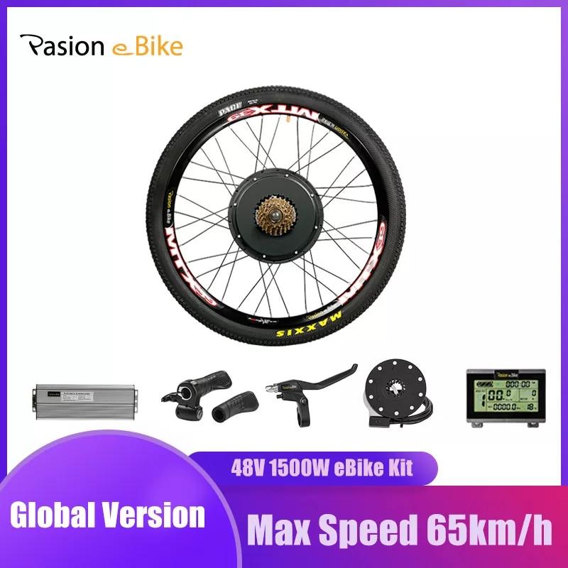 Kit conversión bicicleta electrica 1500W
