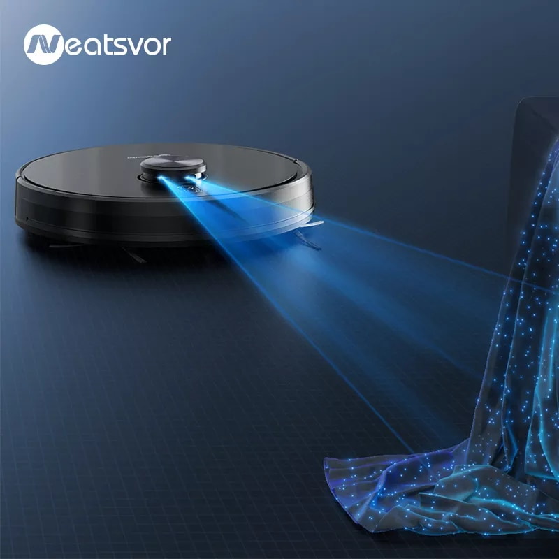 Robot aspirador de navegación láser NEATSVOR X600 4000pa