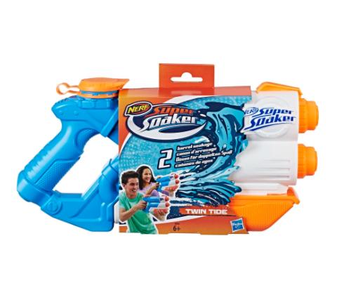 Pistola Hasbro Original Nerf Supersoaker Twin Tide