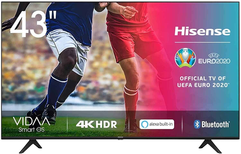"""Smart TV Hisense 43"""" 4K"""