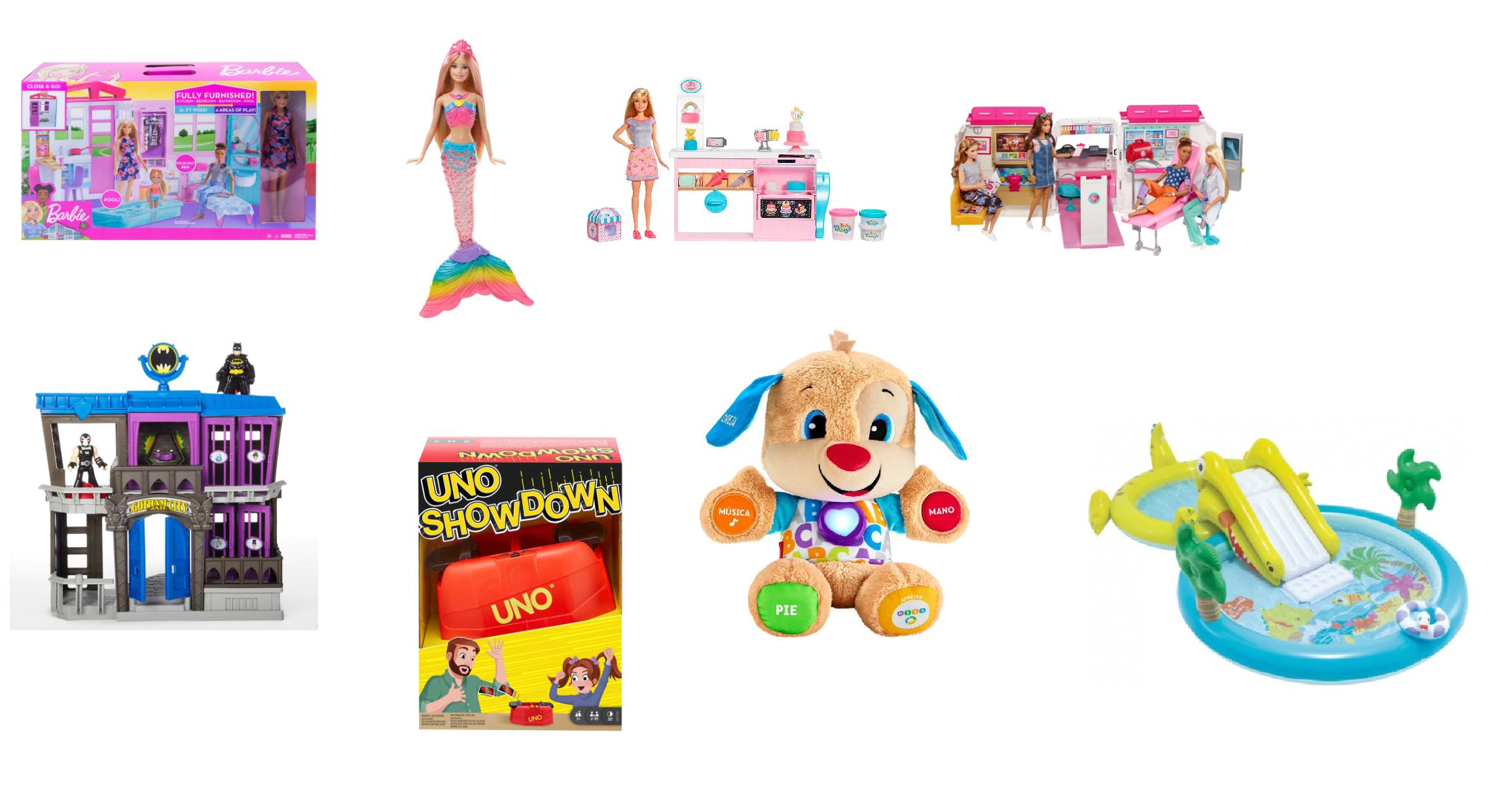 Descuentos en Juguetes Mattel, Lego, INTEX, Fisher Price y más desde AliExpress