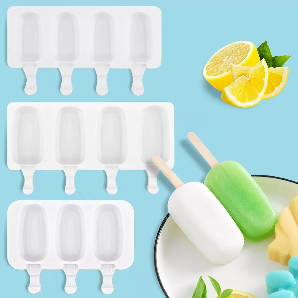 Molde de silicona para helado