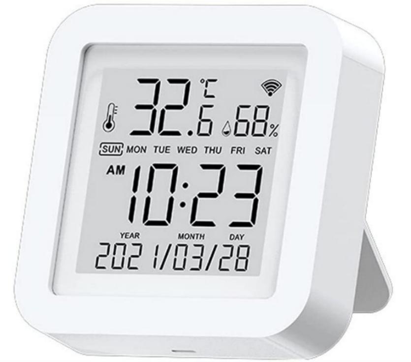 Estación meteorológica LCD Alexa