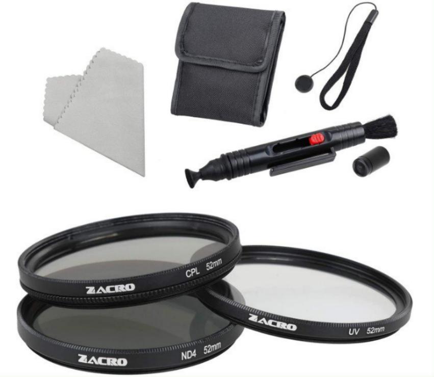 Kit 6 en 1 Filtros de Fotografía para Cámara Réflex