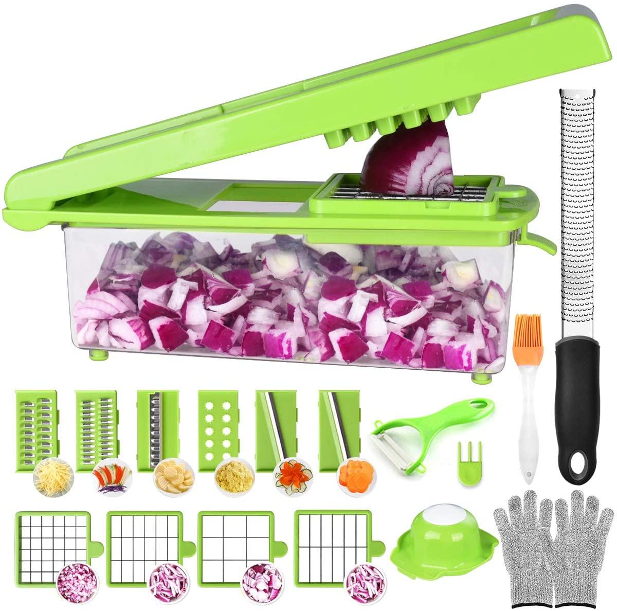Cortador de verduras y frutas 24 en 1