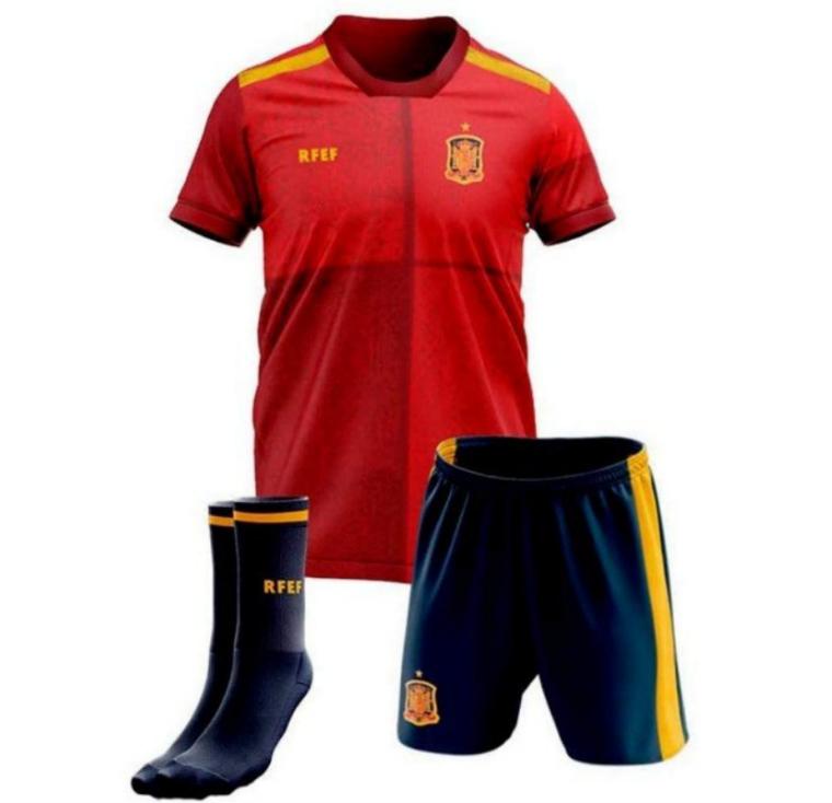 Réplica Oficial de la equipación de la Selección Española