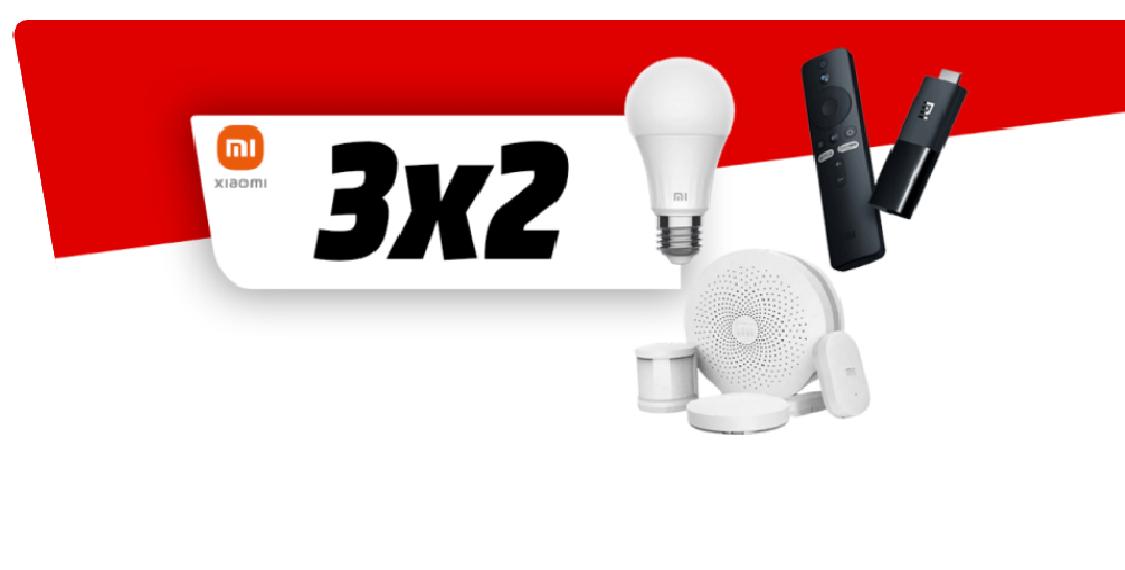 3X2 en Selección de Productos SmartHome y Streaming Xiaomi