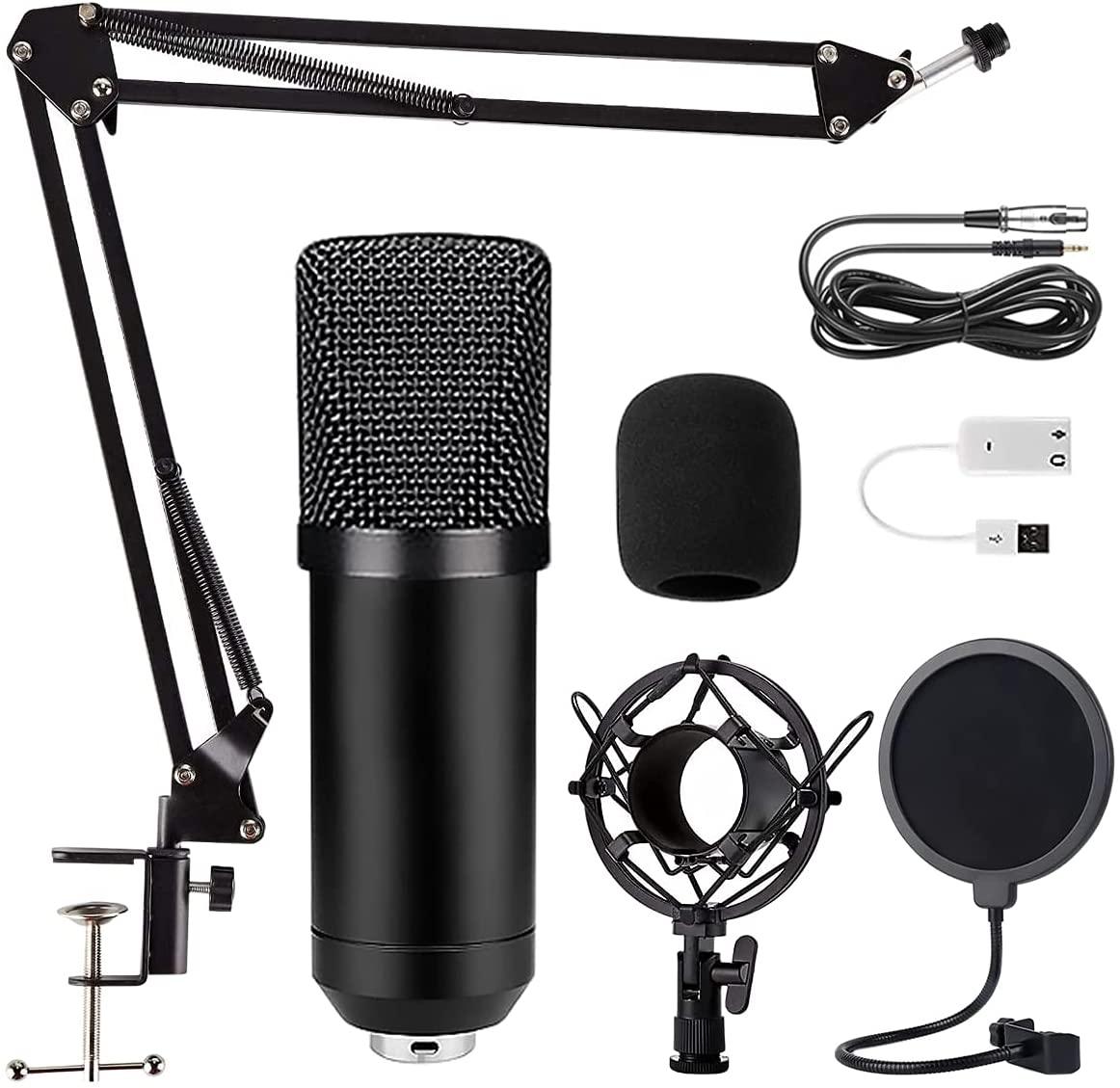 Kit Profesional de Micrófono de condensador