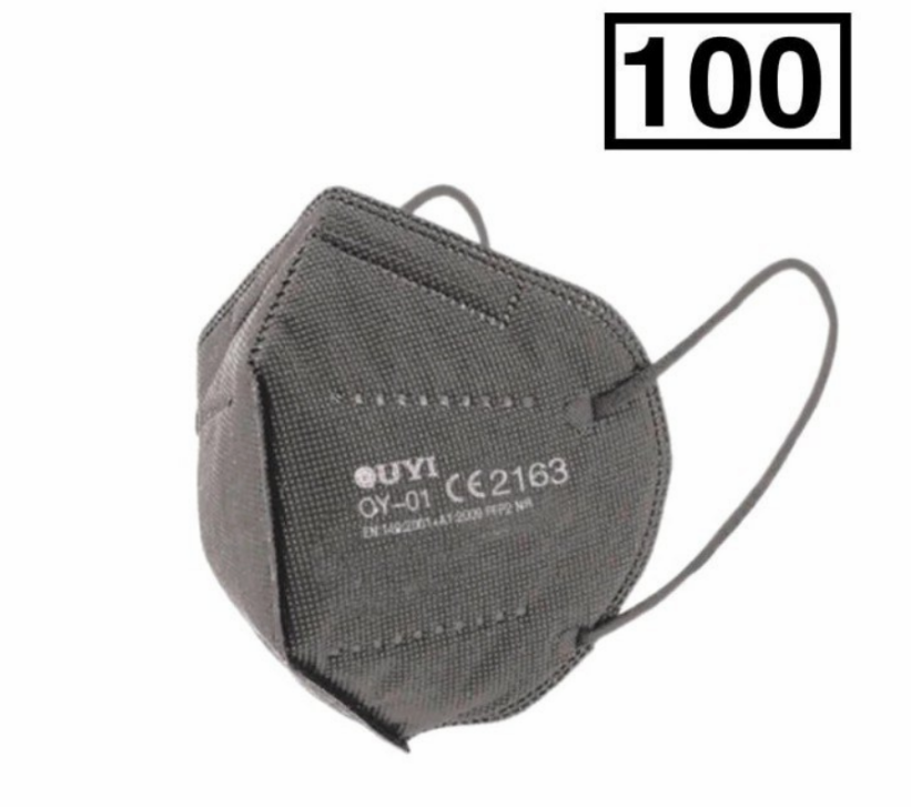 Pack 100 mascarillas FFP2