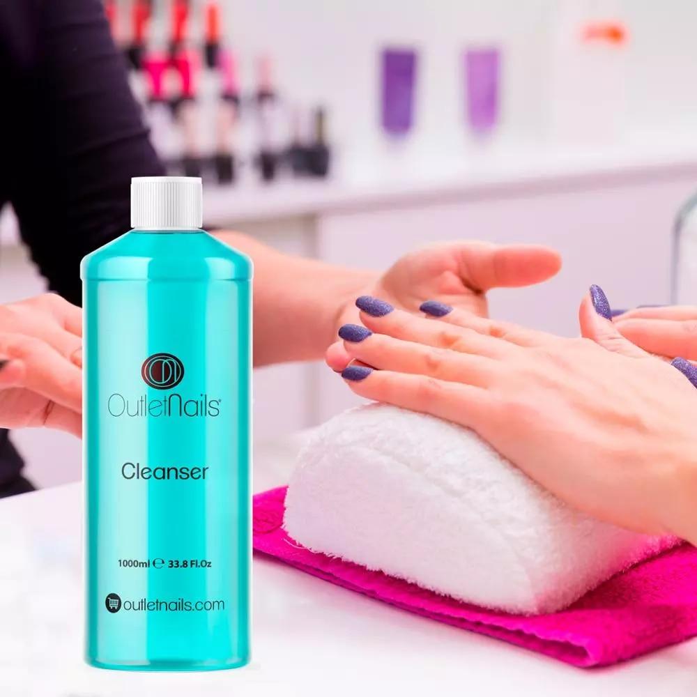 Limpiador de uñas de Gel UV