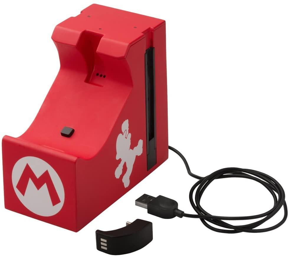 Estación de Carga Power A - Pro Mario Nintendo Swtich