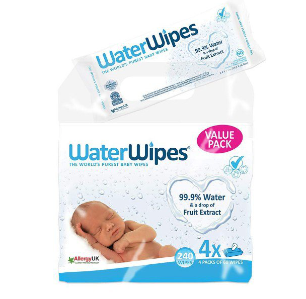 240 Toallitas WaterWipes GRATIS
