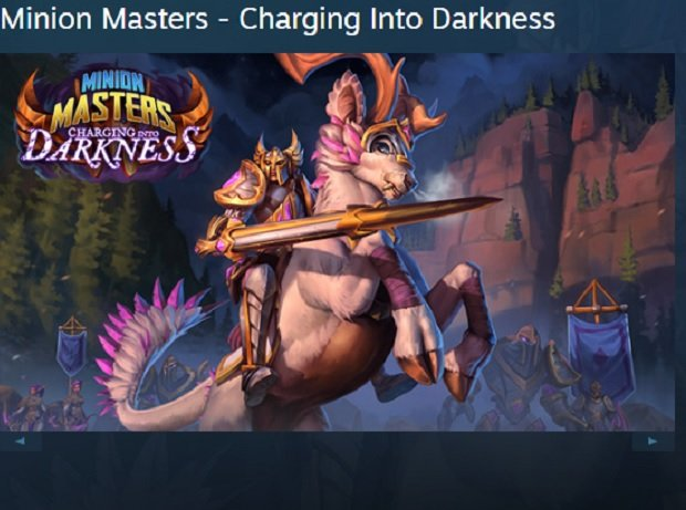 Expansión Minion Masters: Charging Into Darkness, gratis en Steam